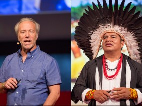 A TEDGlobal friendship, straight from the Amazon: Mark Plotkin and Tashka Yawanawá