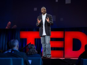 """We'll never arrest our way out of this situation"": Rev. Jeffrey Brown speaks on urban violence at TED2015"