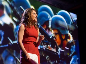 Women at war, women as friends: The talks in Session 6 of TEDWomen 2015