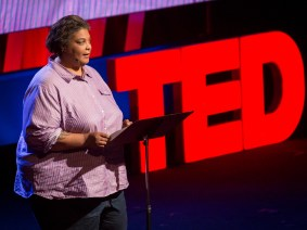 """I am a bad feminist and a good woman."" Roxane Gay lights up TEDWomen 2015"