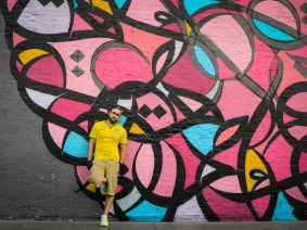 The beauty of calligraphy, the power of street art: We watch eL Seed create 'calligraffiti'
