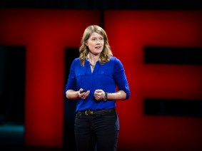 It's time we inverted the pyramids: Satellite archaeologist Sarah Parcak invites the world into her work
