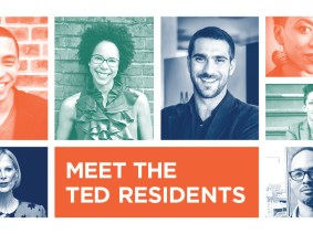 Meet our first class of TED Residents