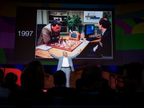 """Machines have objectivity, humans have passion"": Garry Kasparov speaks at TED2017"