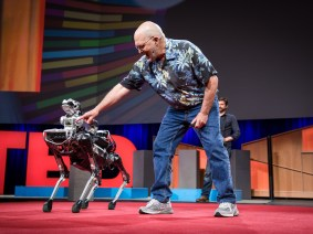 Our robotic overlords: The talks of Session 2 of TED2017