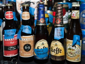 A beer exchange that spanned the globe
