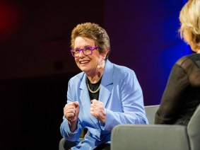 How the 'Battle of the Sexes' influenced a generation of men: Billie Jean King's TEDWomen update