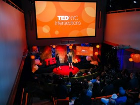 Ideas from the intersections: A night of talks from TED and Brightline