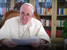 The making of His Holiness Pope Francis's second TED Talk