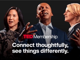 Become a TED member and help build a better future