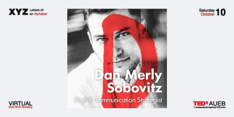 TEDxAUEB 2020 Speakers: Dan Sobovitz
