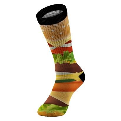 Cheeseburger Sock View 04