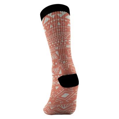 Navajo Print Sock View 02