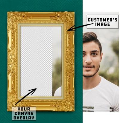 Customer Uploads Image