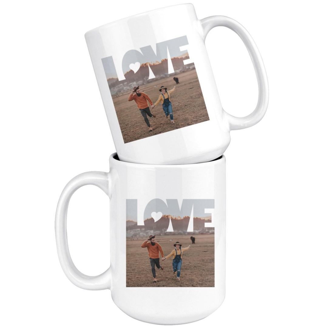 """Love"" 15oz Mugs"