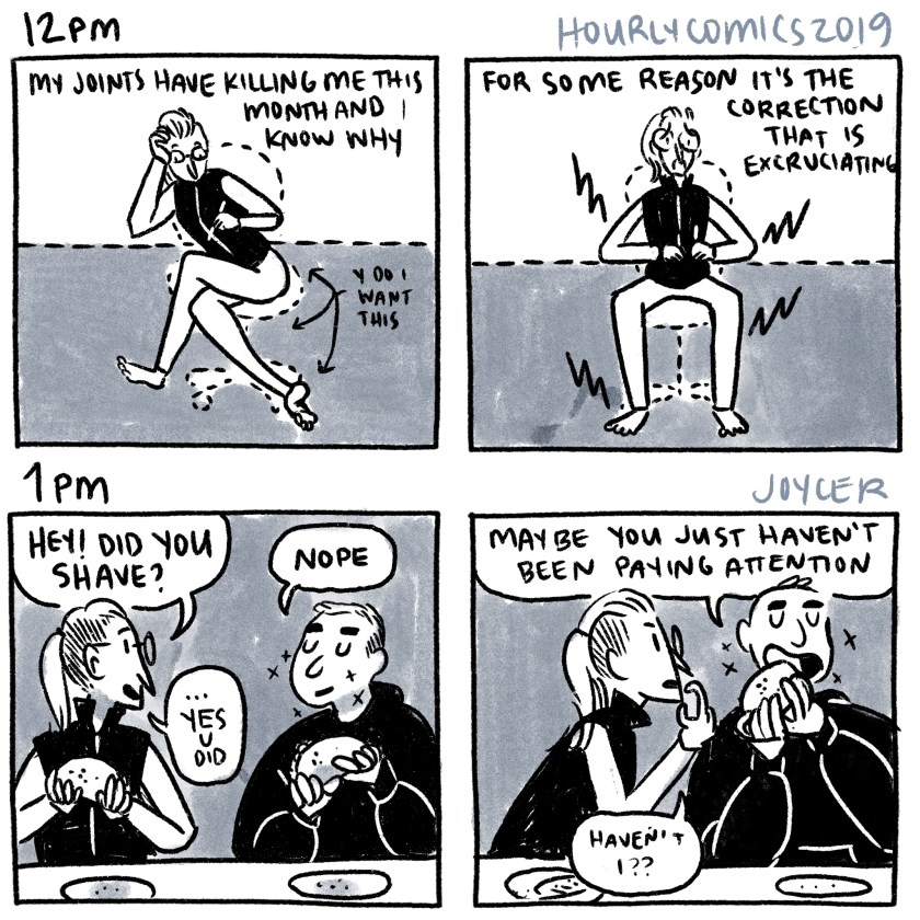 hourly comics 2019, 12pm-1pm