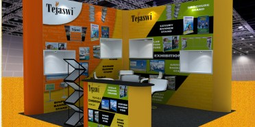 3x3 mtr exhibition stall design
