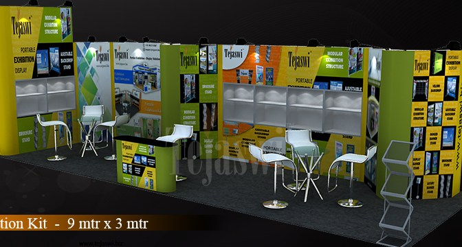 How to decorate an exhibition booth?