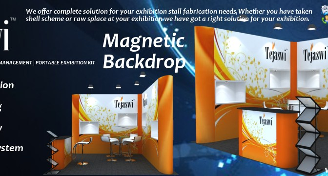 Magnetic Backdrop System