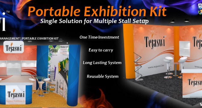 Portable Exhibition Kit, Folding Event Kit, Display Kit