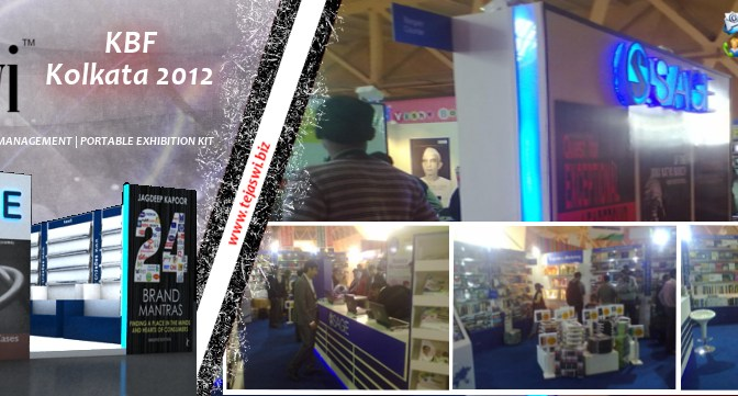 "SAGE Stall Designed by Tejaswi Exhibitions has bagged the ""Best Stall"" award at the 36th International Kolkata Book Fair 2012"
