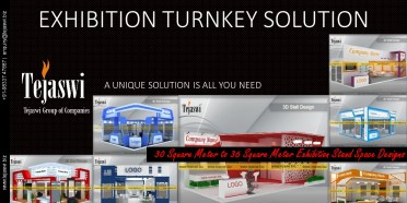 Exhibition Stall Design Solution - 30 Square Meter to 36 Square Meter