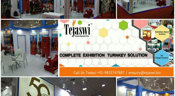 Fire India Exhibition Stall Design Construction India Chennai