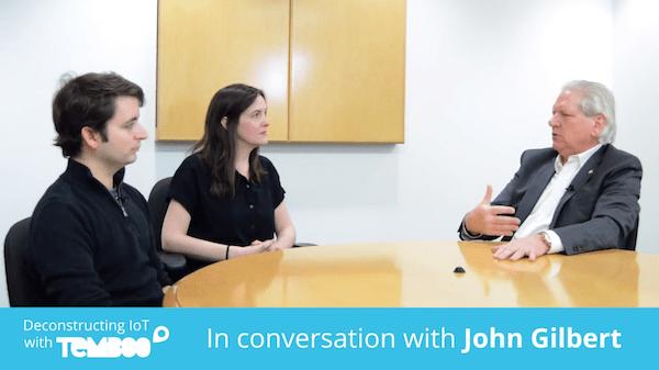 John Gilbert talking with Temboo