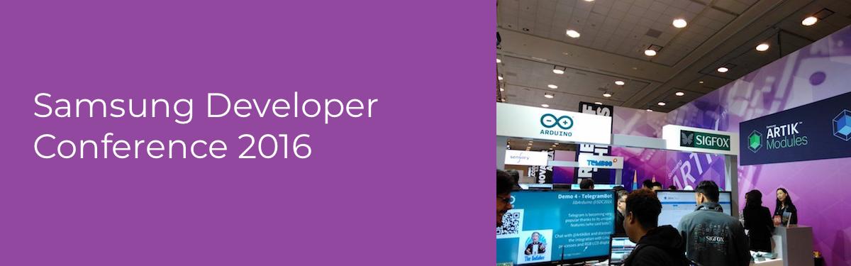 Samsung Developer Conference Header Image