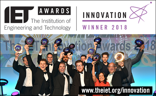 2018 IET Innovation Awards Winners