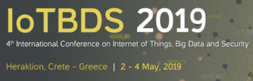 4th International Conference on Internet of Things, Big Data, and Security