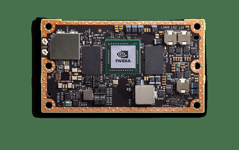 NVIDIA Jetson TX2 machine learning hardware device