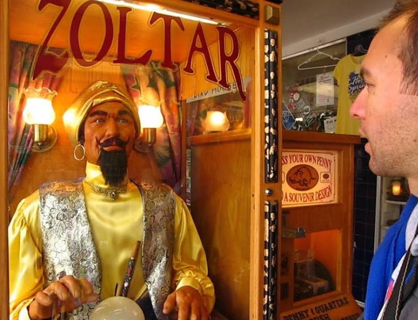 Old fashioned Zoltar game