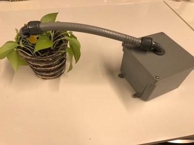 Soil moisture monitoring Setup