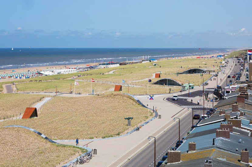 Car park in Katwijk that shows resiliency in design