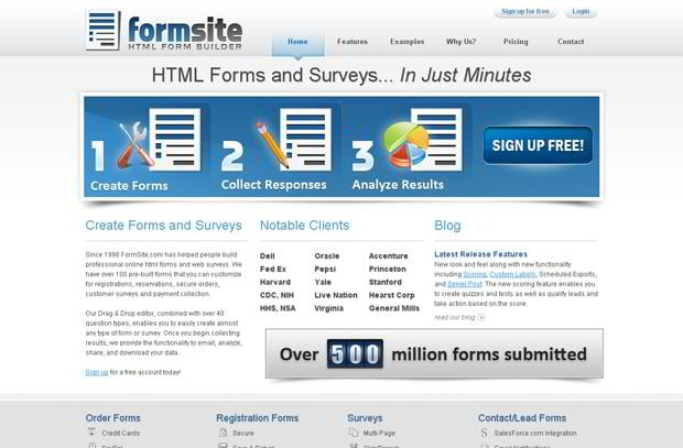 free contact form creator