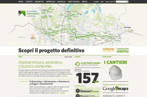 infographic driven web designs