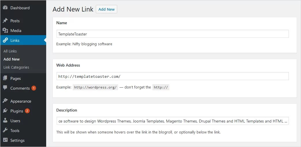 WordPress Links Manager: How to Use it Effectively?