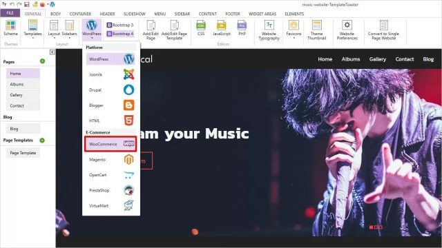 How to Create a Music Website: Step by Step Guide