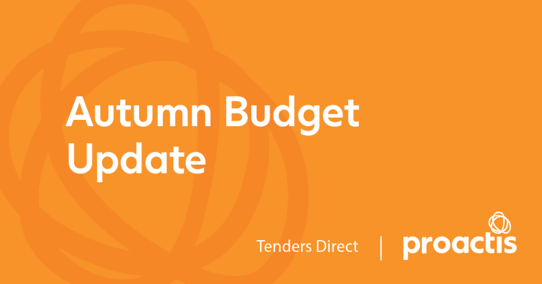 Autumn Budget Update