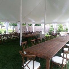 Chair Rental Chicago Childs Table And Chairs 2 Vintage Wedding Under A Tent Indestructo Inc