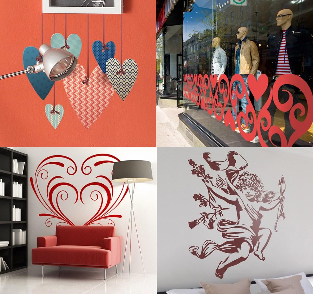 decorar con amor san valentin