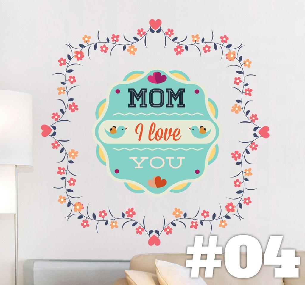 vinilos decorativos para mama amor