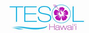The new Hawai'i TESOL logo.