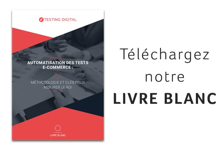Livre Blanc Automatisation Des Tests E Commerce Testing