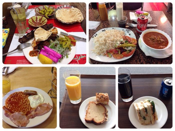 食事 in ロンドン
