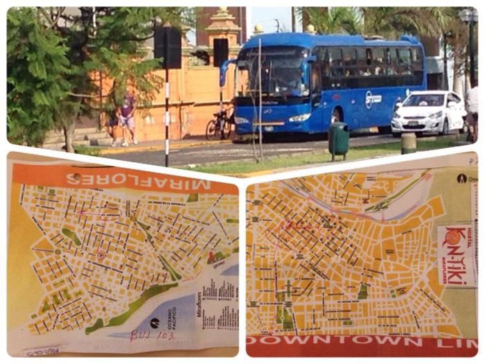 スペイン語に挑戦!バス停の場所を聞く。