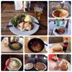 お食事サマリ in シドニー、ブリスベン and メルボルン。