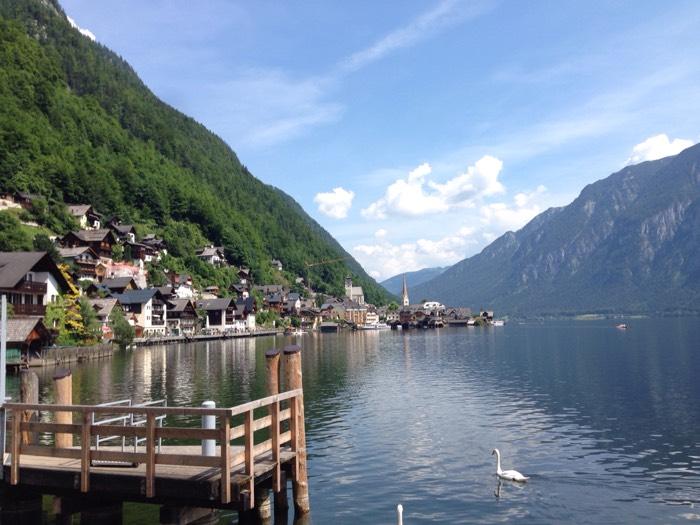 世界一美しい湖畔。 - ハルシュタット ー