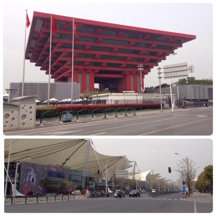 今は昔、上海万博跡地